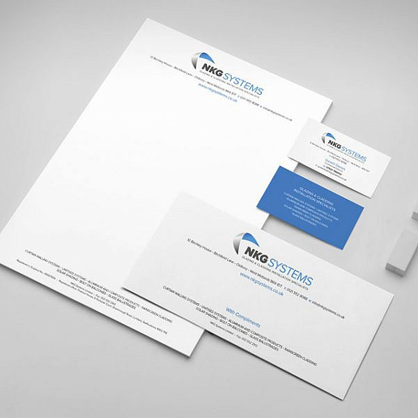 NKG Systems Stationery Mockup