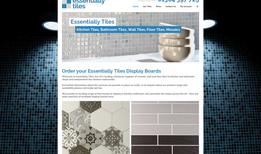 Essentially Tiles Website