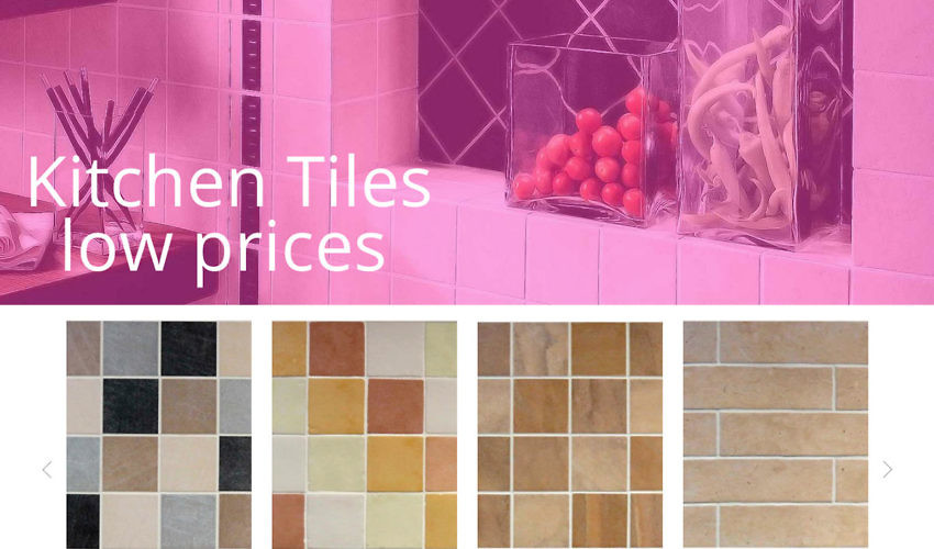 Kitchen Tiles Direct Website