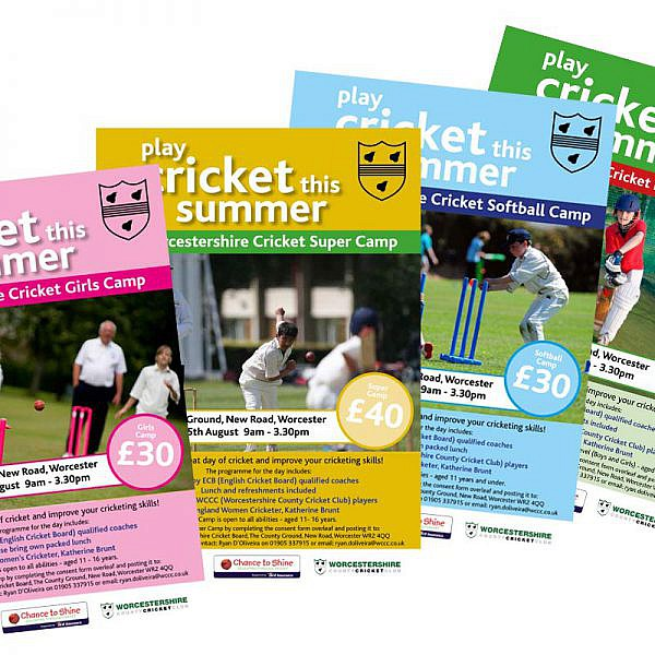 Worcestershire Cricket Board Super Camp Flyers
