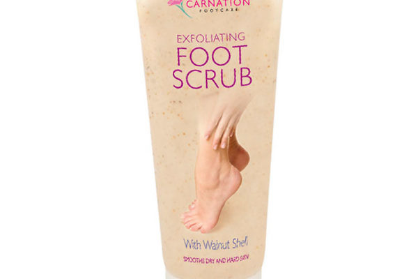 Exfoliating Foot Scrub Tube Packaging Design