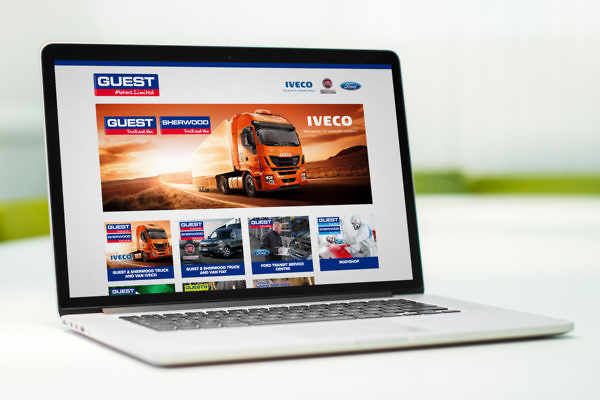 Guest Motors Website