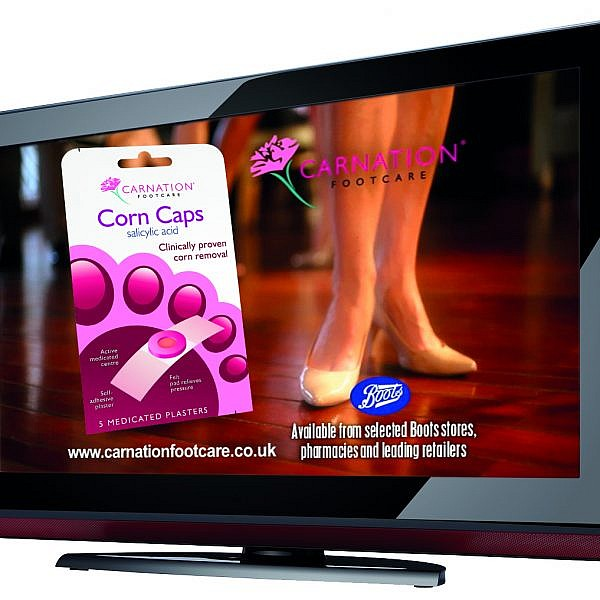 Carnation Corn Cap Tv Advert by Zig Zag Advertising, A Midlands Creative Agency