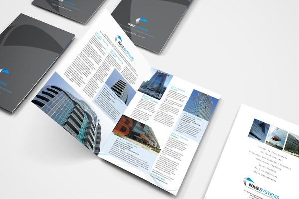 NKG Systems A4 Brochure by Zig Zag Advertising