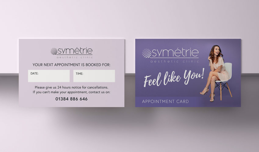 Symétrie Appointment Cards