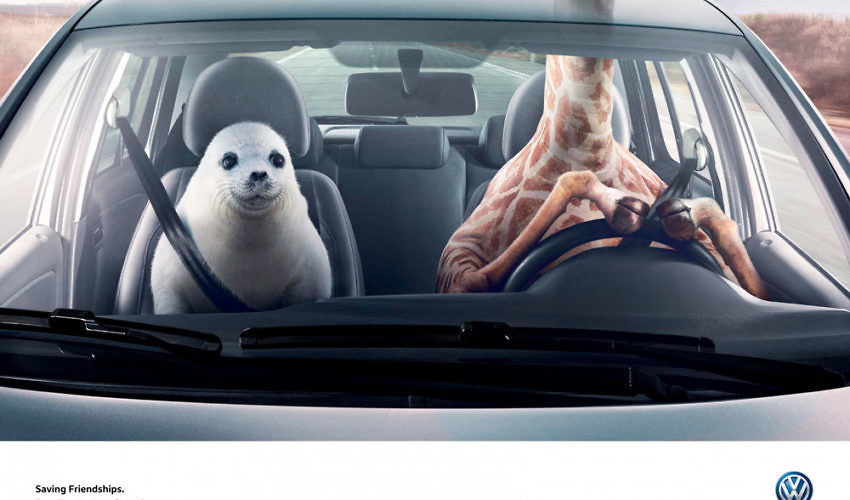 VW Temperature Control Advert - Saving Friendships
