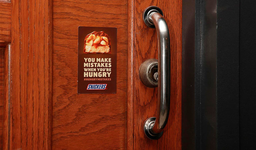 Hungry Mistakes - Snickers Ad Campaign