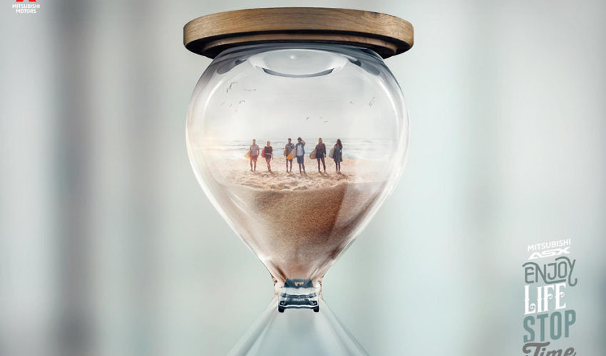 New Campaign from Mitsubishi - 'Enjoy Life, Stop Time'