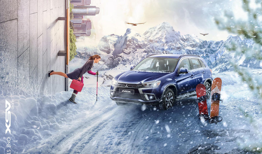 'Next Step' - Ad Campaign from Mitsubishi